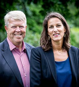 Cees Ubink en Caroline van den Bosch