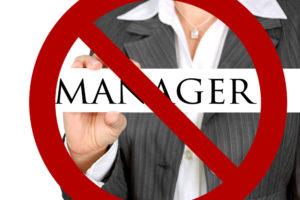 no manager